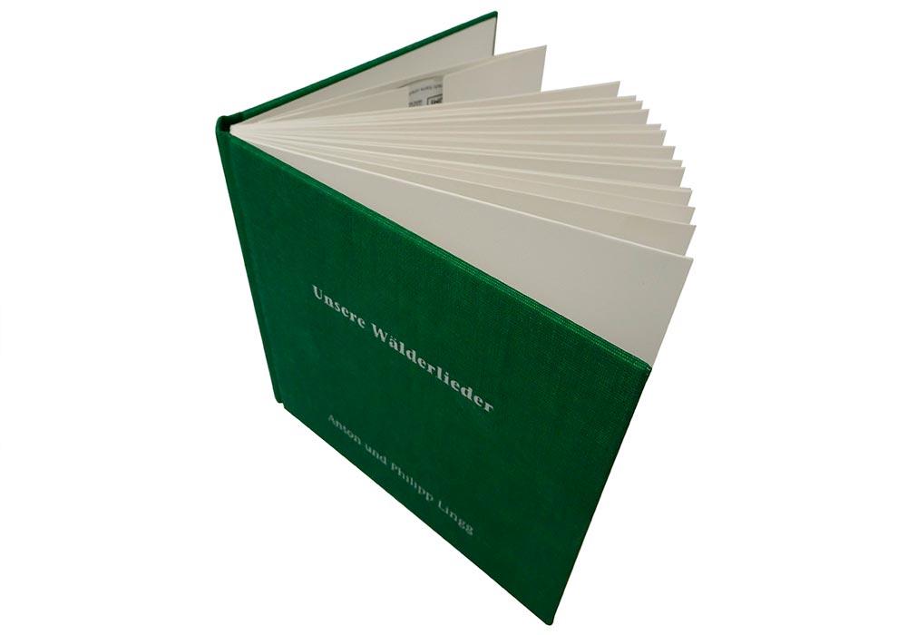 Unsere Wälderlieder CD/Buch von Anton und Philipp Lingg edition bahnhof 2008