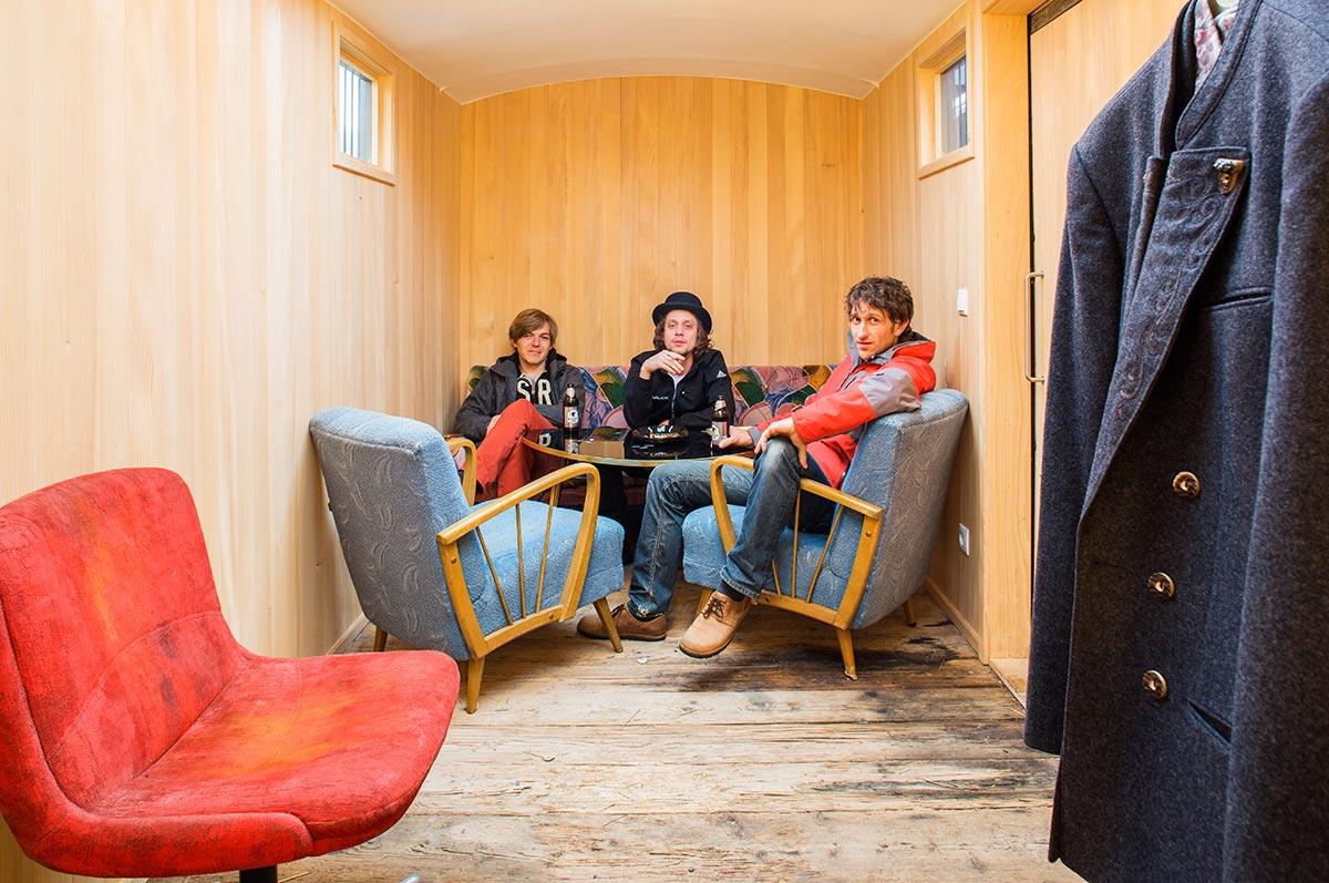 Backstage im kulturverein bahnhof © Darko Todorovic