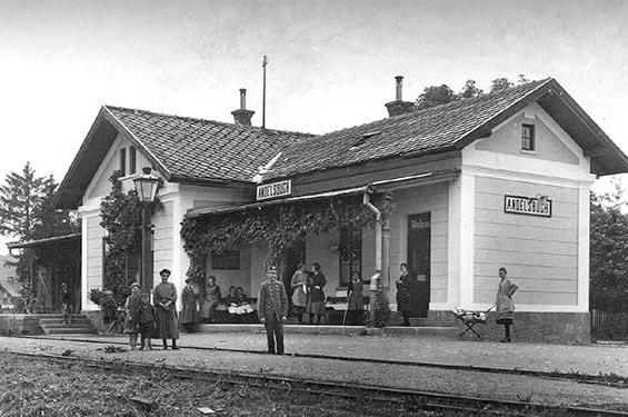 Bahnhof Andelsbuch