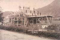 Bau Bahnhof Andeslbuch 1901
