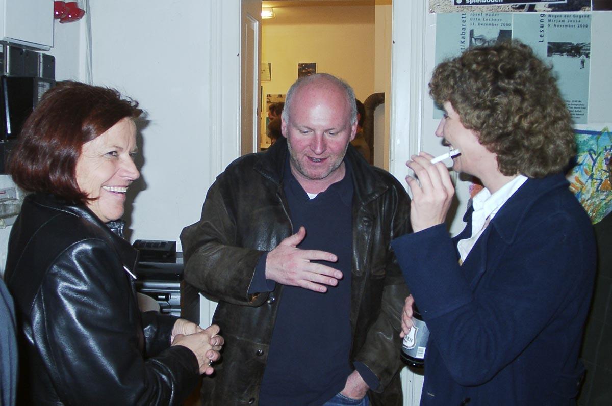 Margarete Broger, Roland Jörg und Ingrid Bertel