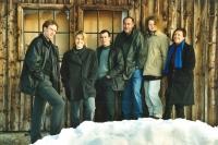 Das Gründungsteam vom kulturverein bahnhof: Hannes Metzler, Ursula Koch, Frank Broger, Mario Meusburger, Dorothea Manier-Lehner und Margarete Broger