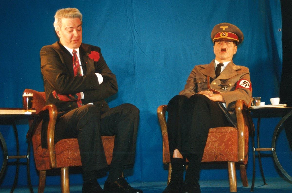 Kabarett Helmut Zink im Gespräch mit Adolf Hitler