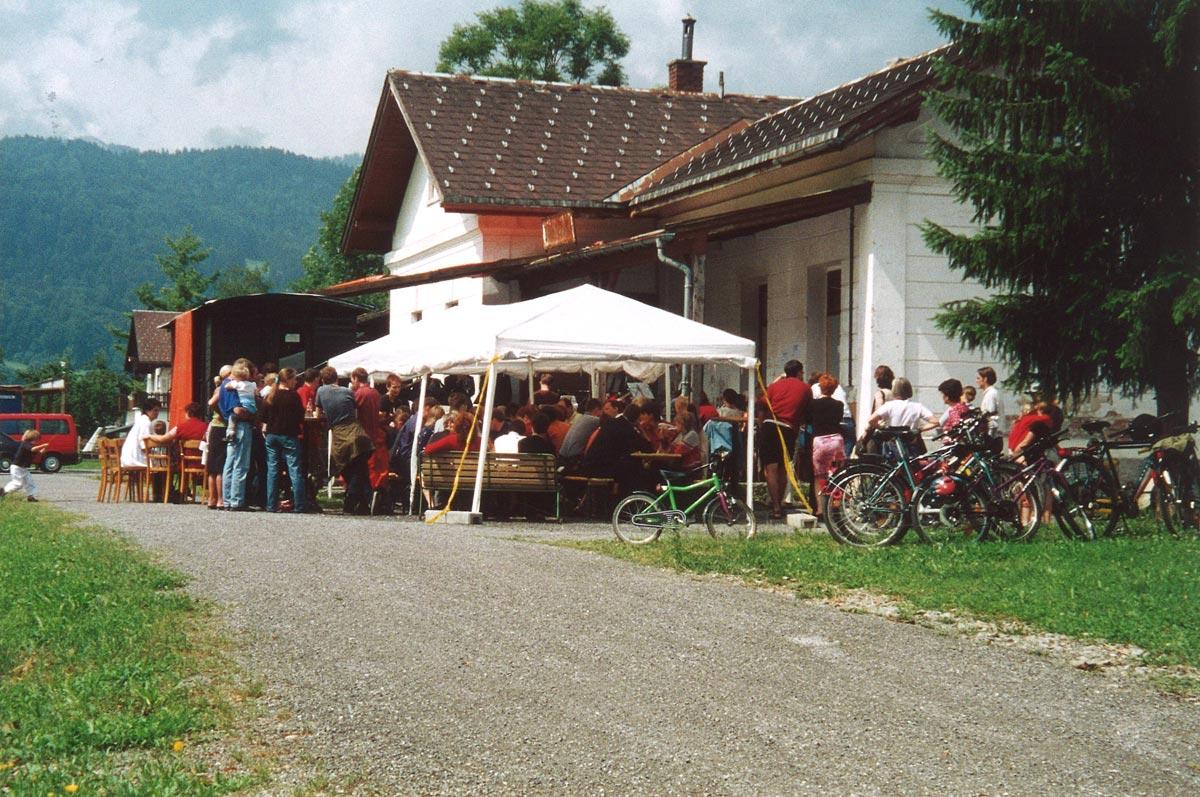 Open Air im kulturverein bahnhof