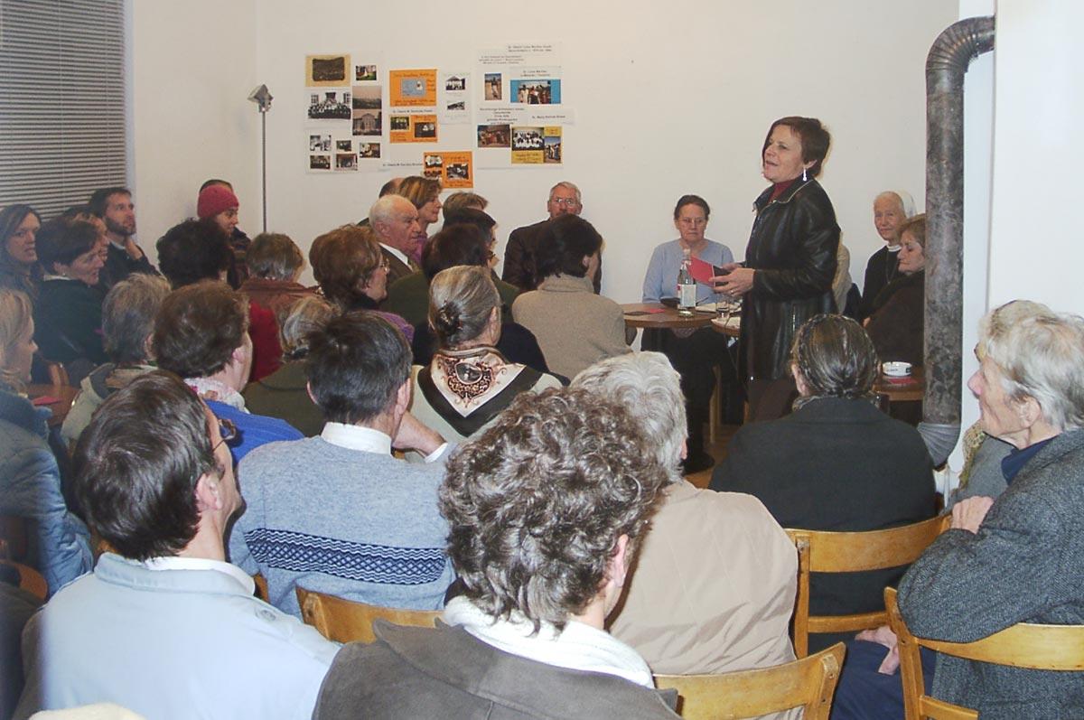 Tone Bechter im Gespräch mit Lawinenopfer moderiert von Margarete Broger