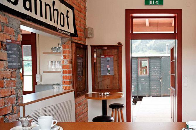 Bar kulturverein bahnhof © Adolf Bereuter